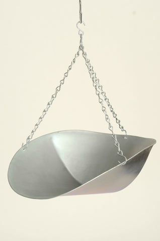 Galvanized Scoop with Chain