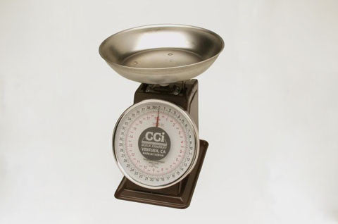 Stainless Steel Pan with sub-assembly for LCD scales