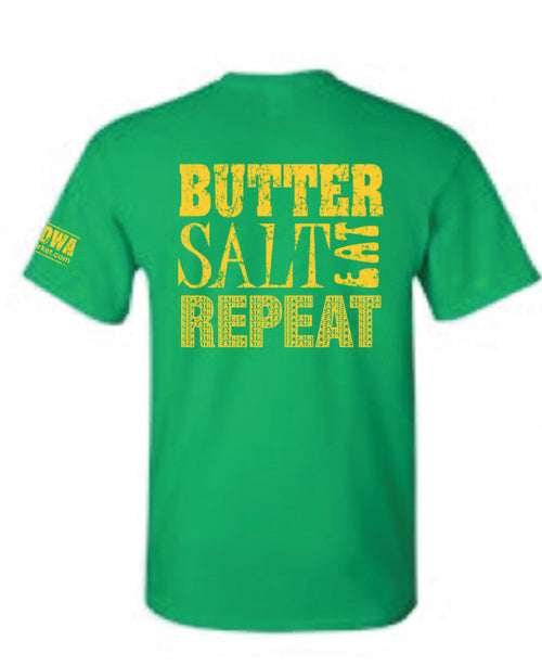 Butter Salt Eat Repeat T-Shirt