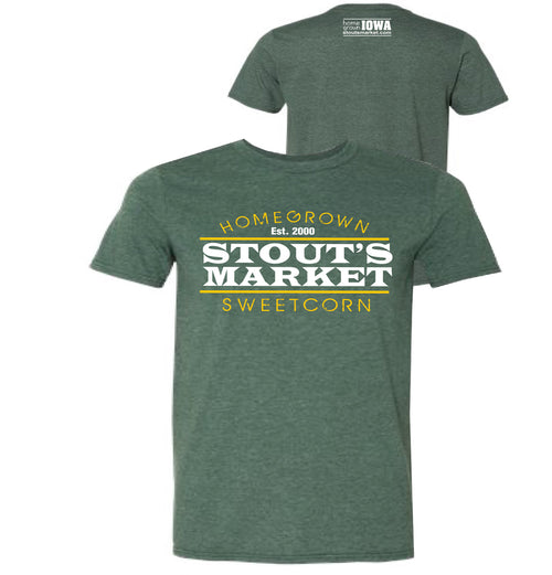 Stout's Market Homegrown Sweetcorn T-Shirt