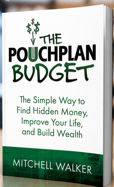 The PouchPlan Budget Book - FREE SHIPPING & 100% SATISFACTION GUARANTEE