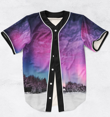 Aurora Jersey Unisex Tops - Blue Flame Clothing