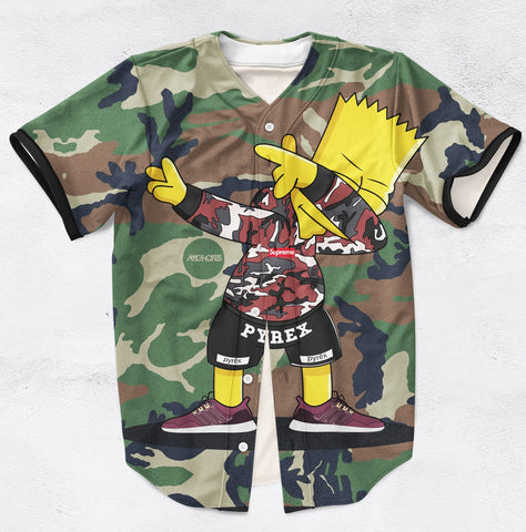 Bart Dab Jersey - Blue Flame Clothing