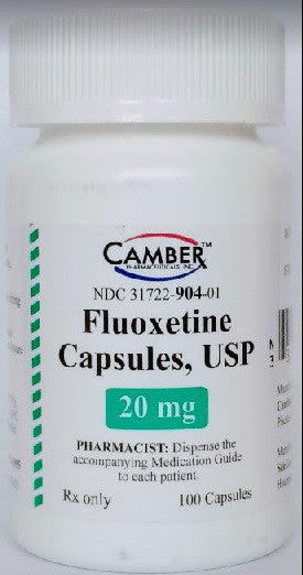 Fluoxetine Capsules 20 mg