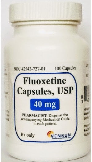 Fluoxetine Capsules 40 mg