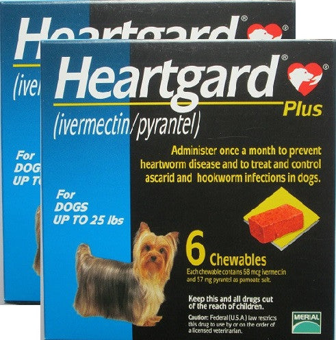 Heartgard Plus - Use Dropdown to Make Your Selection