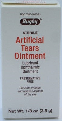 Artificial Tears Ointment 1/8 oz