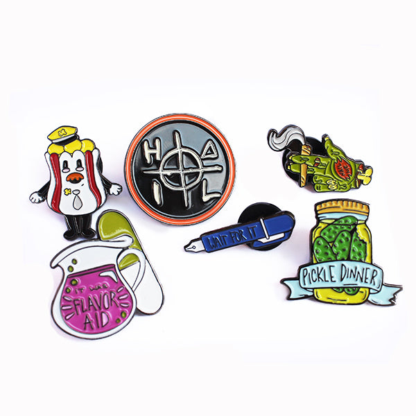LPOTL Enamel Pin Collection