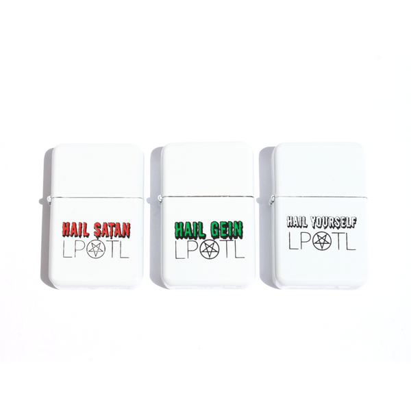 """Hail"" Lighter Collection"