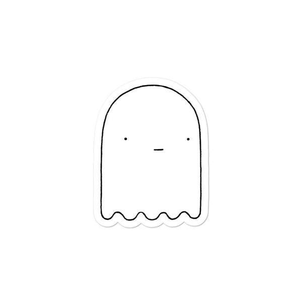 """Ghost"" Sticker"
