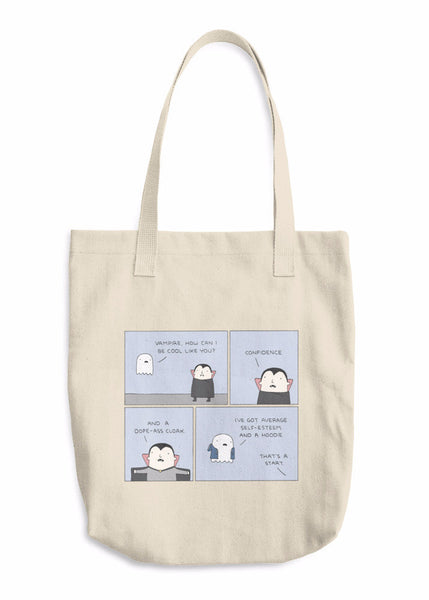 """Cool Like Vampire"" Tote Bag"