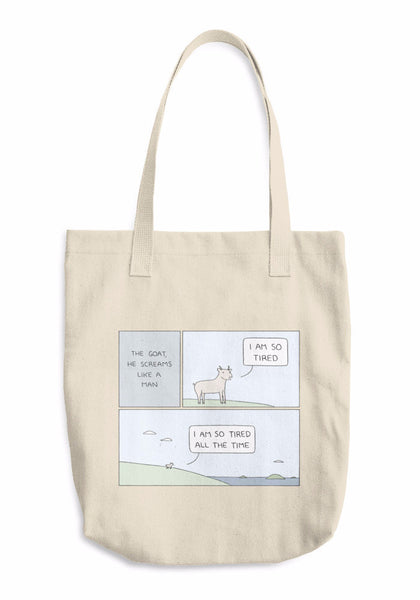 """The Goat"" Tote Bag"