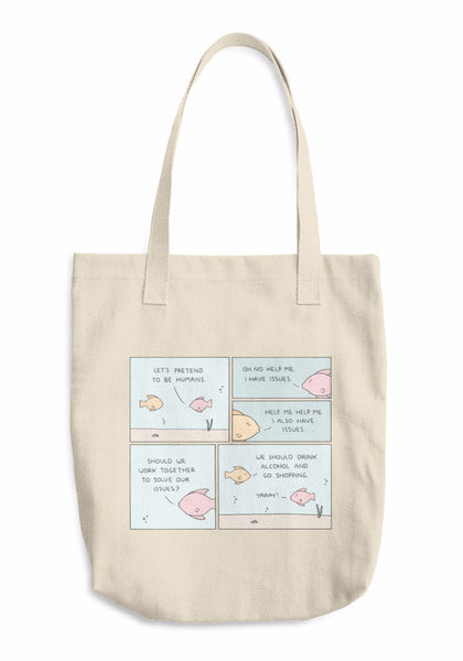 """Pretend"" Tote Bag"