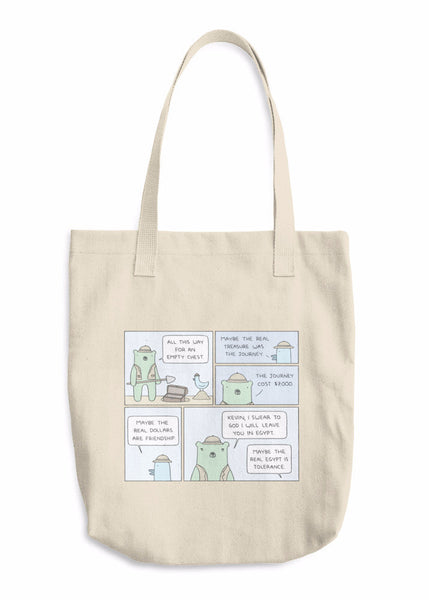 """Treasure"" Tote Bag"