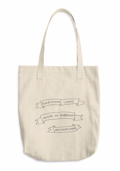 """Ribbons"" Tote Bag"