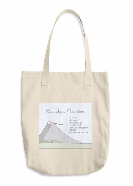 """Like a Mountain"" Tote Bag"
