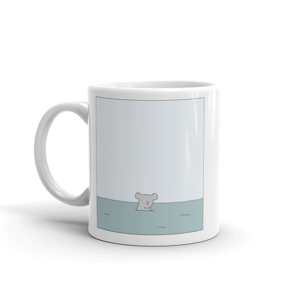 """Mouse in the Ocean"" Mug"