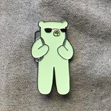 """Travel Ernesto"" Pin"