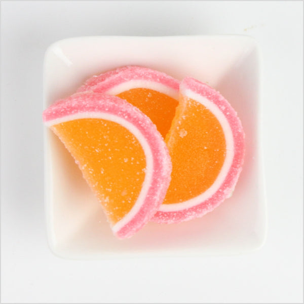 Peach Apricot Fruit Slices - CoCa LeNa Candy Shop Port Washington