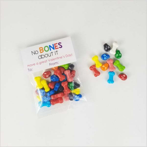Candy Bones Valentines 10pk - CoCa LeNa Candy Shop Port Washington