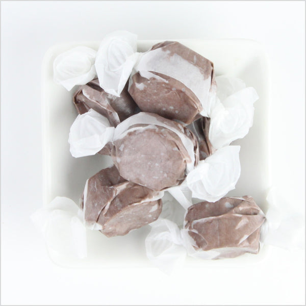 Chocolate Saltwater Taffy - CoCa LeNa Candy Shop Port Washington