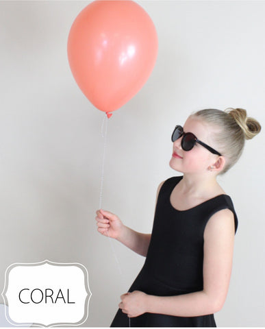 Coral Balloon - CoCa LeNa Candy Shop Port Washington