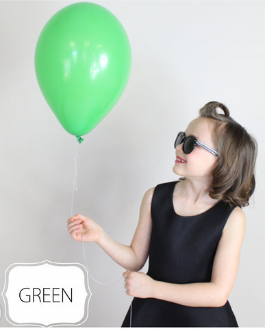 Green Balloon - CoCa LeNa Candy Shop Port Washington