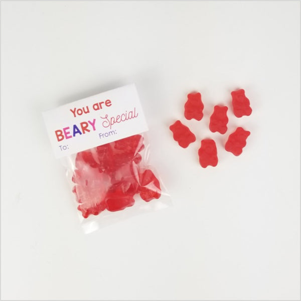Gummy Bear Valentines 10pk - CoCa LeNa Candy Shop Port Washington