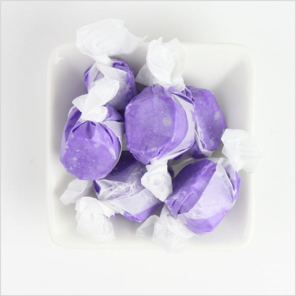 Huckleberry (Grape) Saltwater Taffy - CoCa LeNa Candy Shop Port Washington