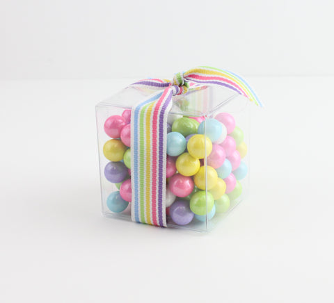 "2"" Sixlet Favor Box - CoCa LeNa Candy Shop Port Washington"