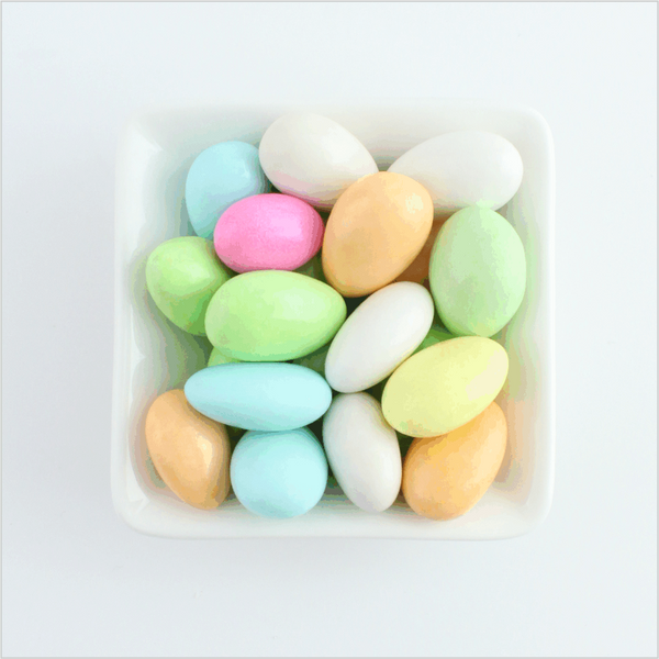Pastel Jordan Almonds - CoCa LeNa Candy Shop Port Washington