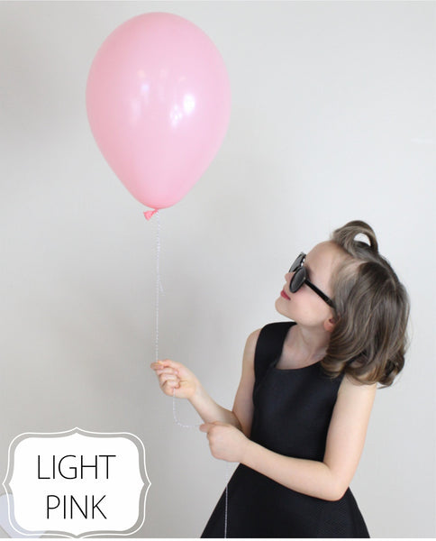 Light Pink Balloon - CoCa LeNa Candy Shop Port Washington