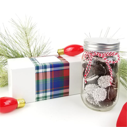 Holiday Mason Jar Boxed - CoCa LeNa Candy Shop Port Washington