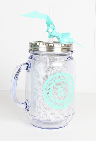 Personalized Moonshine Mason Jar - CoCa LeNa Candy Shop Port Washington