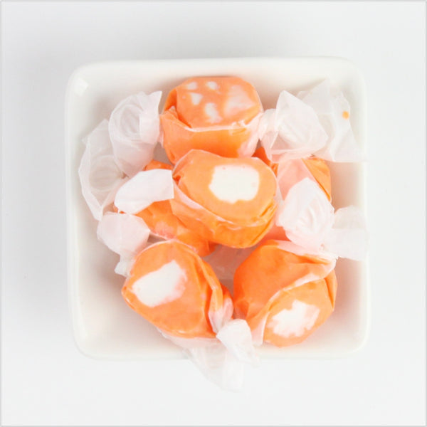 Orange & Cream Saltwater Taffy - CoCa LeNa Candy Shop Port Washington