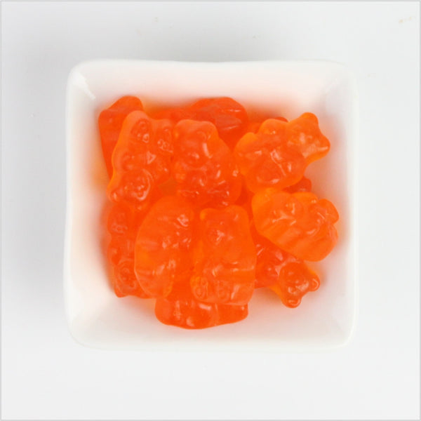 Orange Gummy Bears - CoCa LeNa Candy Shop Port Washington