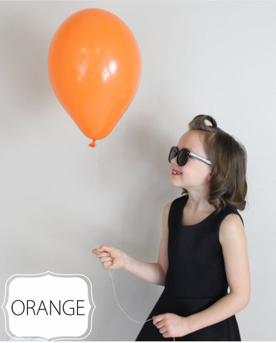 Orange Balloon - CoCa LeNa Candy Shop Port Washington
