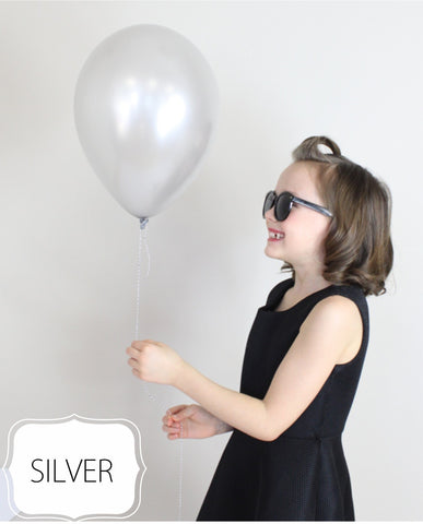Silver Balloon - CoCa LeNa Candy Shop Port Washington