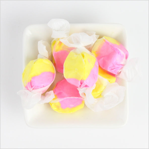 Strawberry Banana Saltwater Taffy - CoCa LeNa Candy Shop Port Washington