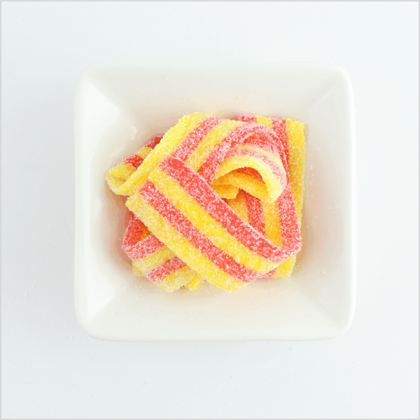 Strawberry Banana Sour Belts - CoCa LeNa Candy Shop Port Washington