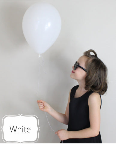 White Balloon - CoCa LeNa Candy Shop Port Washington