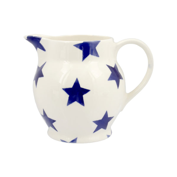 Emma Bridgewater 1/2 pint Blue Star Jug