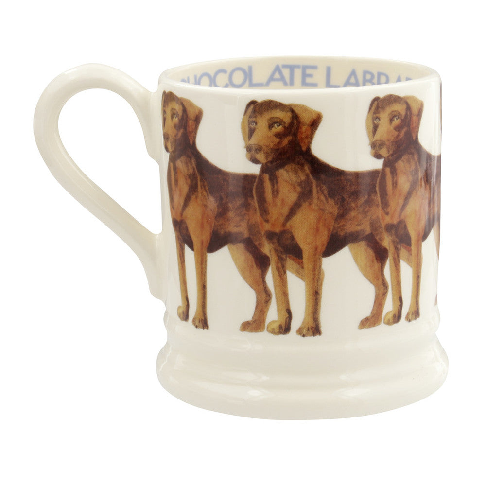 Emma Bridgewater 1/2 pint Chocolate Labrador Mug