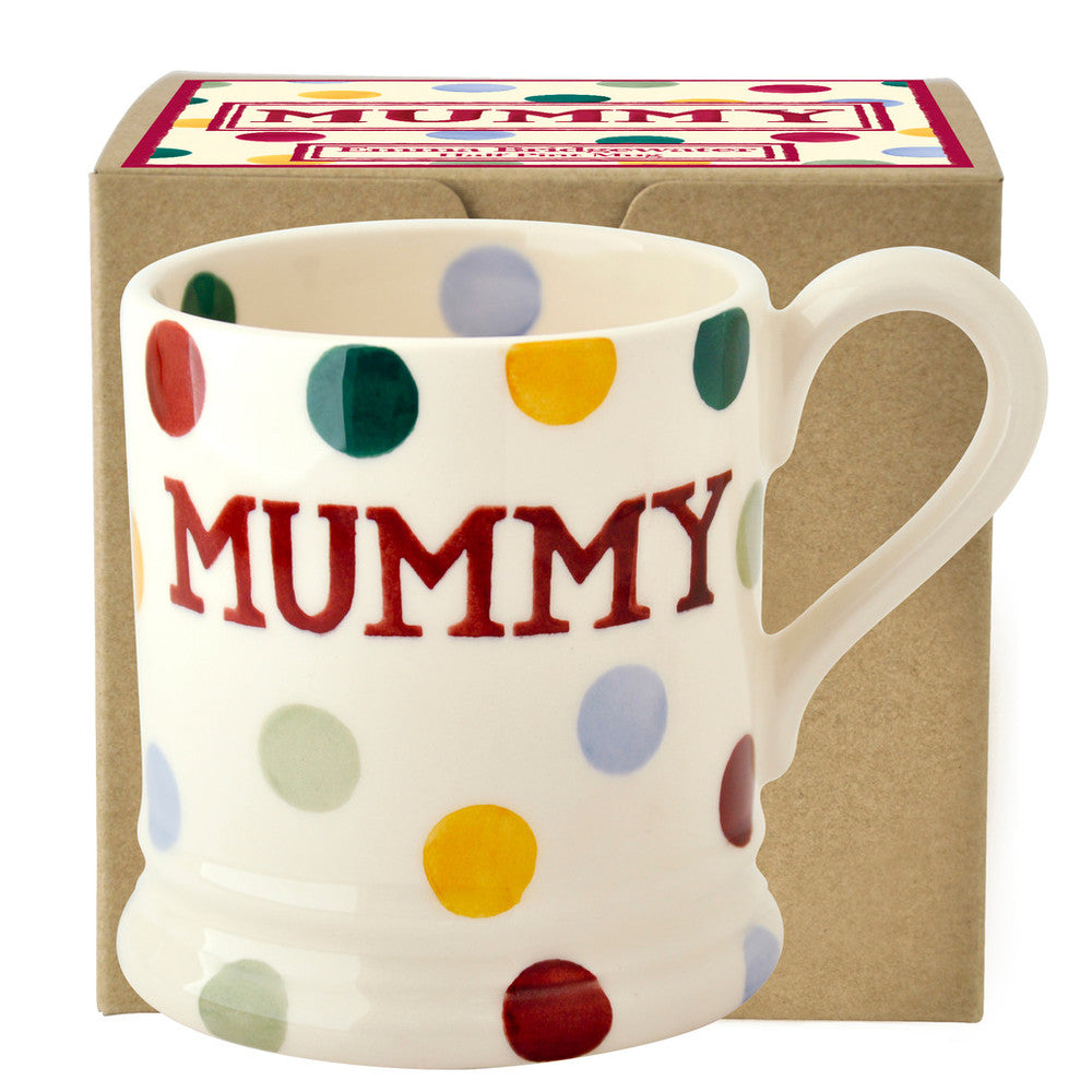 Emma Bridgewater Gift Boxed 1/2 Polka Dot Mummy