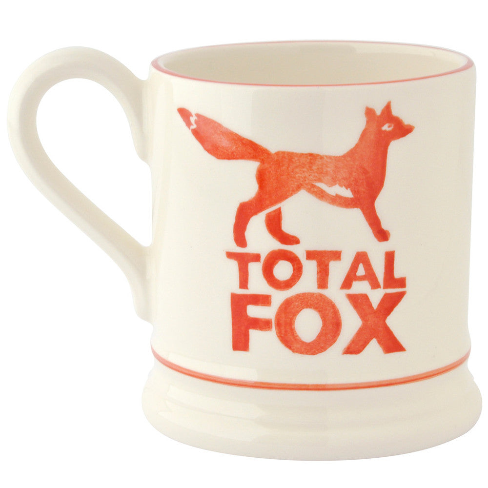 Emma Bridgewater 1/2 pint Total Fox Mug