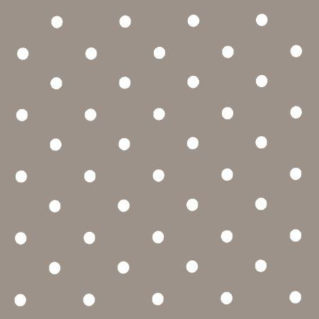 Dotty Oilcloth - Matt Smoke