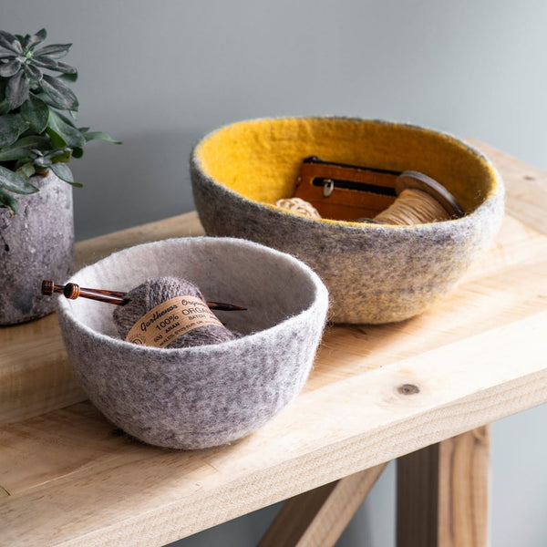 Set of 2 Southwold Felt Bowls