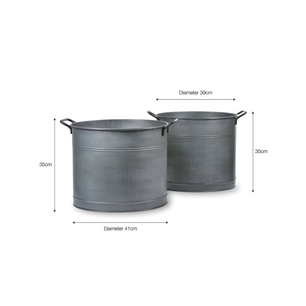 Galvanised Steel Planter