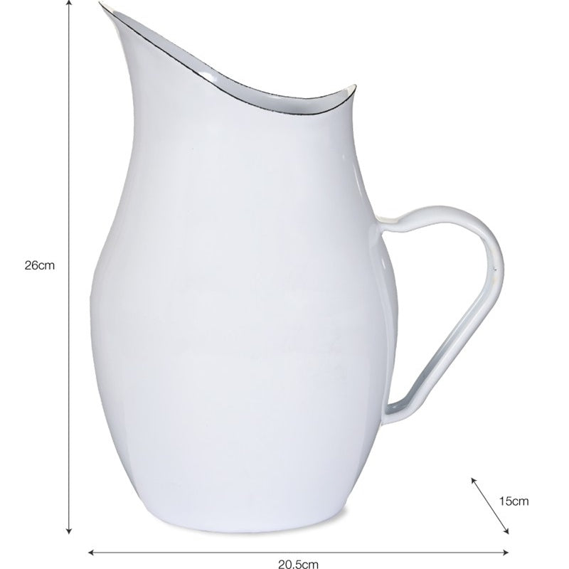 Enamel Water Pitcher