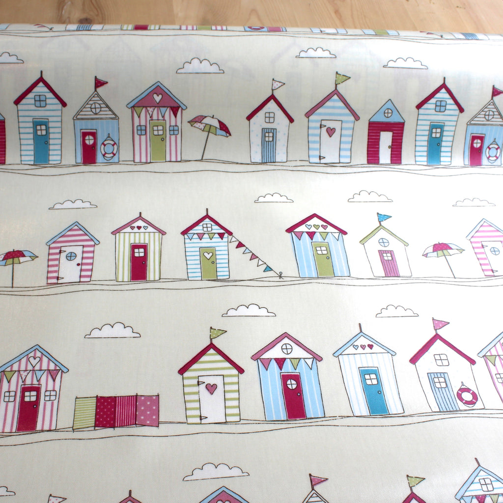Fun Huts - Gloss Oilcloth